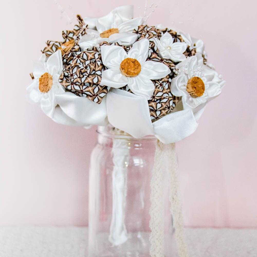 Bouquet FLEURS EN TISSU