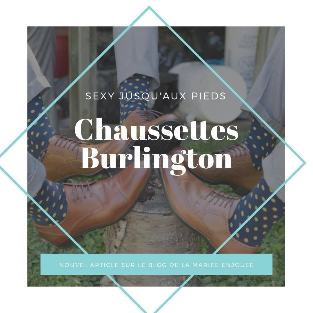 Des chaussettes Burlington pour ses petons!