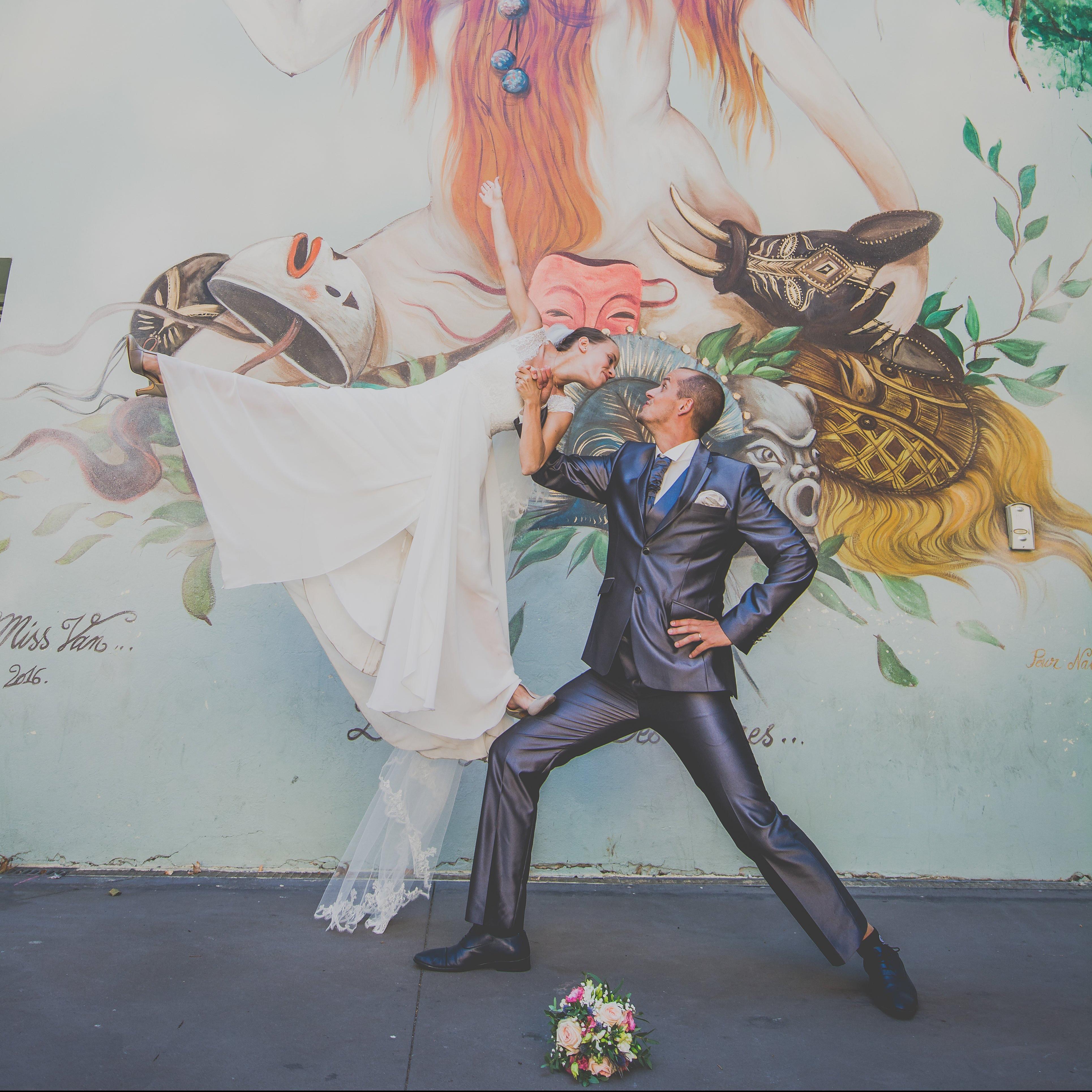Un Mariage artistique dans les rues de Toulouse – Trezors Photography