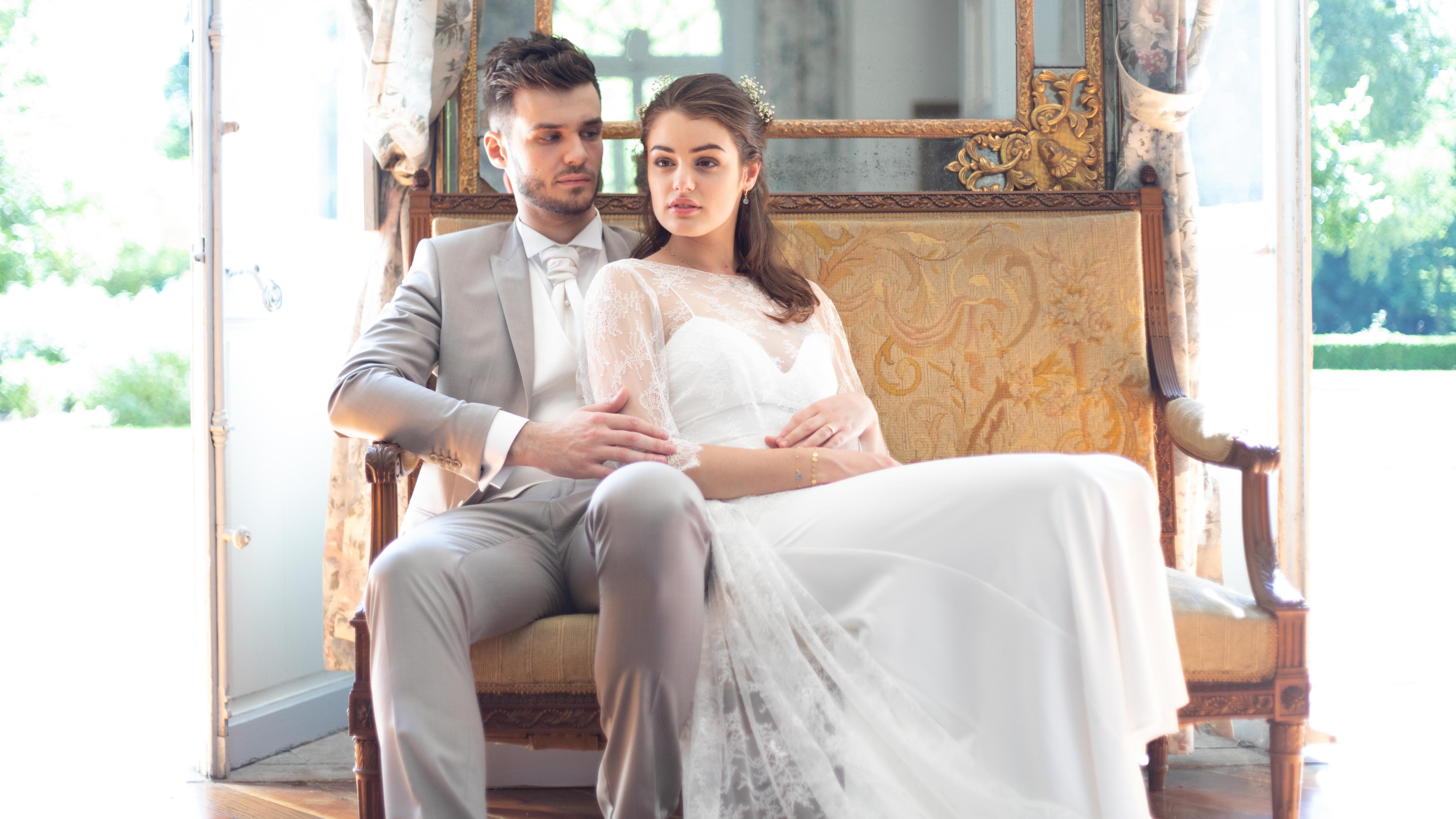 Shooting d'inspiration  – Cécile & Romain au château du Palays