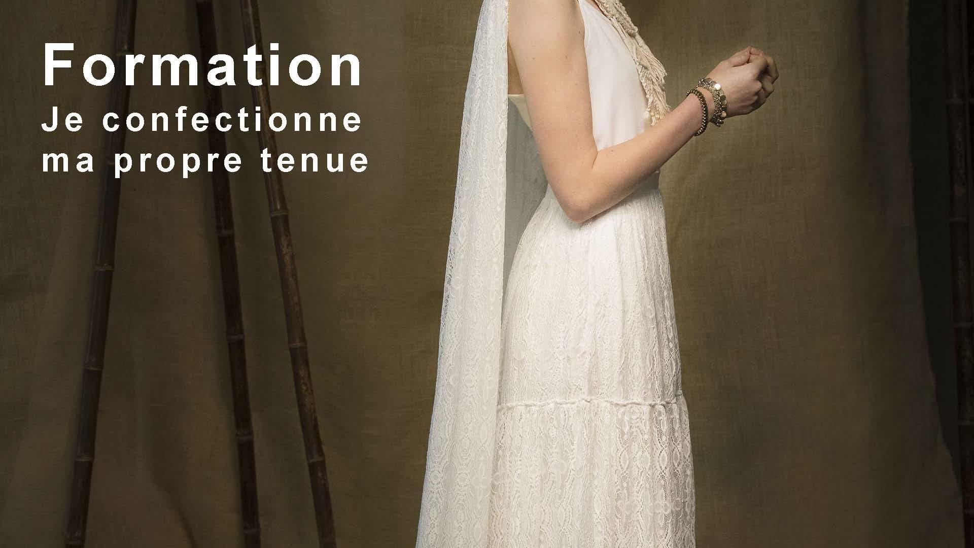 Je confectionne ma robe de mariée avec Atelier Quatre Points