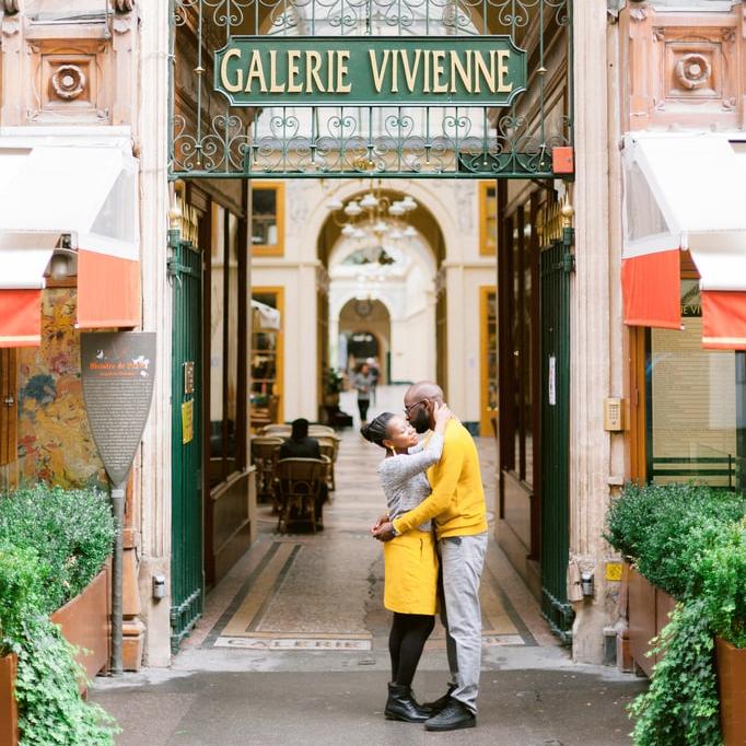 Les amoureux de passage à Paris