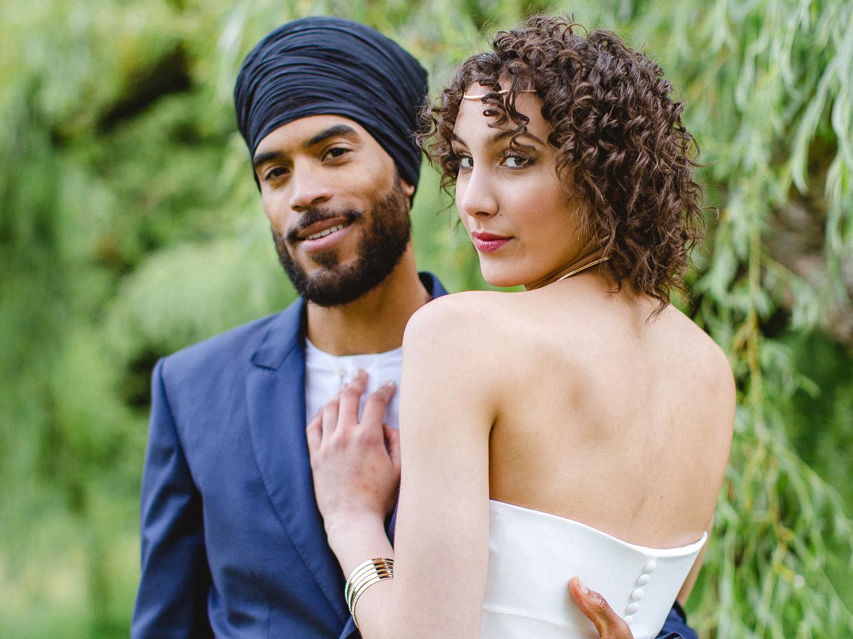 mariage couple mixte